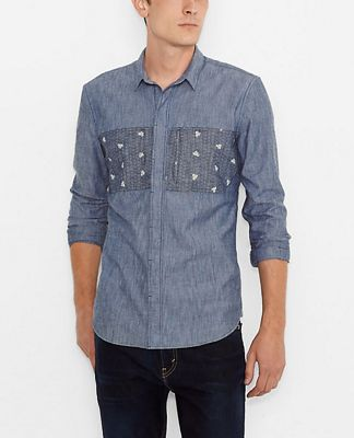 Levi's Men's Commuter Commuter City Shirt