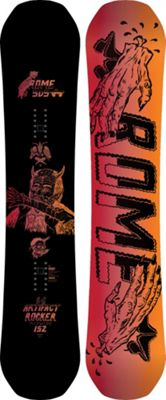 Rome Artifact Rocker Midwide Snowboard 152 - Men's