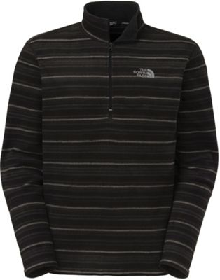 The North Face Men's TKA 100 Stripe Glacier 1/4 Zip