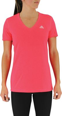 Adidas Women's Ultimate SS V-Neck Top