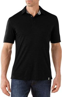 Smartwool Men's Fish Creek Solid SS Polo