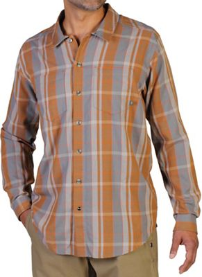 ExOfficio Men's BugsAway Talisman Plaid L/S Shirt