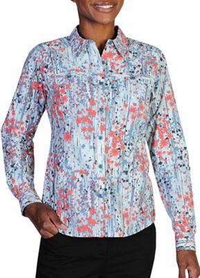 ExOfficio Women's Percorsa Print L/S Shirt