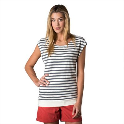 Toad & Co Women's Slubstripe Cap Tee