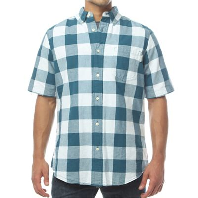 Woolrich Men's Seaport Oxford Yarn-Dye SS Shirt