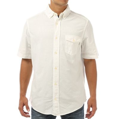 Woolrich Men's Seaport Pigment Oxford II SS Shirt