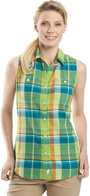 Woolrich Women's Sunbury SL Madras Shirt