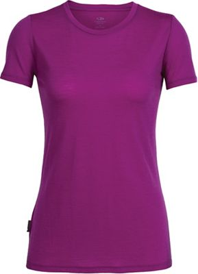 Icebreaker Women's Tech Lite SS Crewe Top