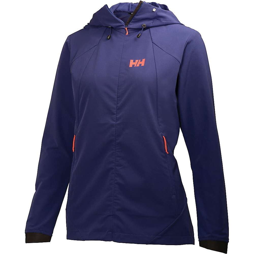 helly hansen women 39 s hooded paramount accellerator softshell jacket at. Black Bedroom Furniture Sets. Home Design Ideas