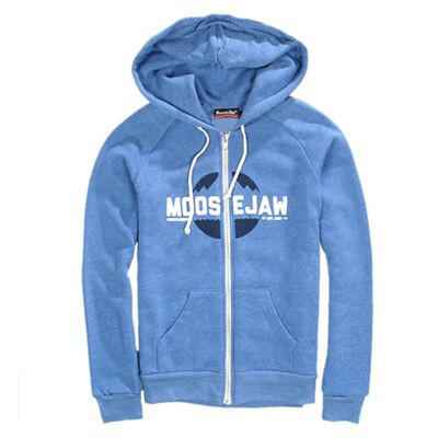 Moosejaw Women's It's a Trap Tri-Blend Zip Hoody