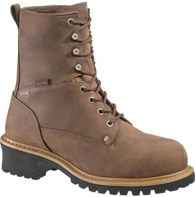 Wolverine Men's Snyder Waterproof Insulated Steel Toe Logger Boot