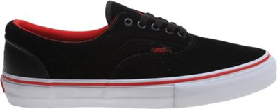 Vans Era Pro BMX Shoes (Cult) Black/Flame Scarlet - Men's