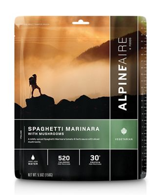 AlpineAire Spaghetti Marinara with Mushrooms