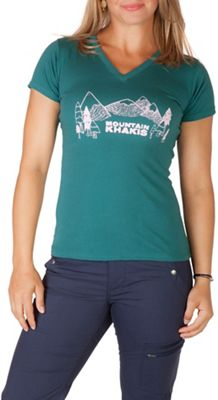 Mountain Khakis Women's Treeline SS V Neck T-Shirt
