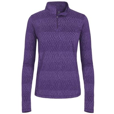 Tasc Women's Sideline 1/4-Zip Print Top