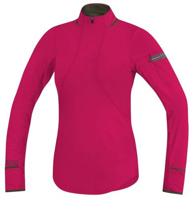 Gore Running Wear Women's Air Lady Zip Long Sleeve Shirt
