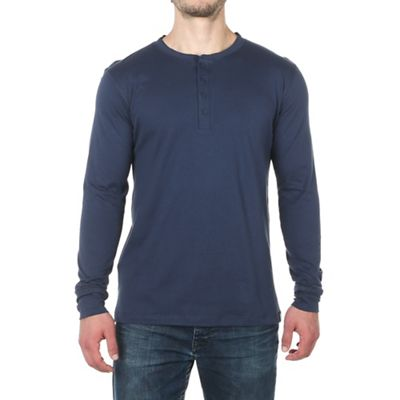 Moosejaw Men's Take It Easy Henley LS Tee