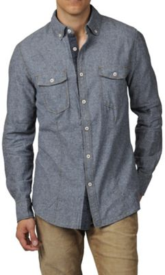 Jeremiah Men's Wade Brushed Chambray