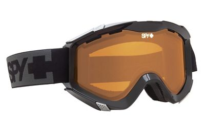 Spy Zed Goggles Black/Persimmon And Bronze Lens - Men's