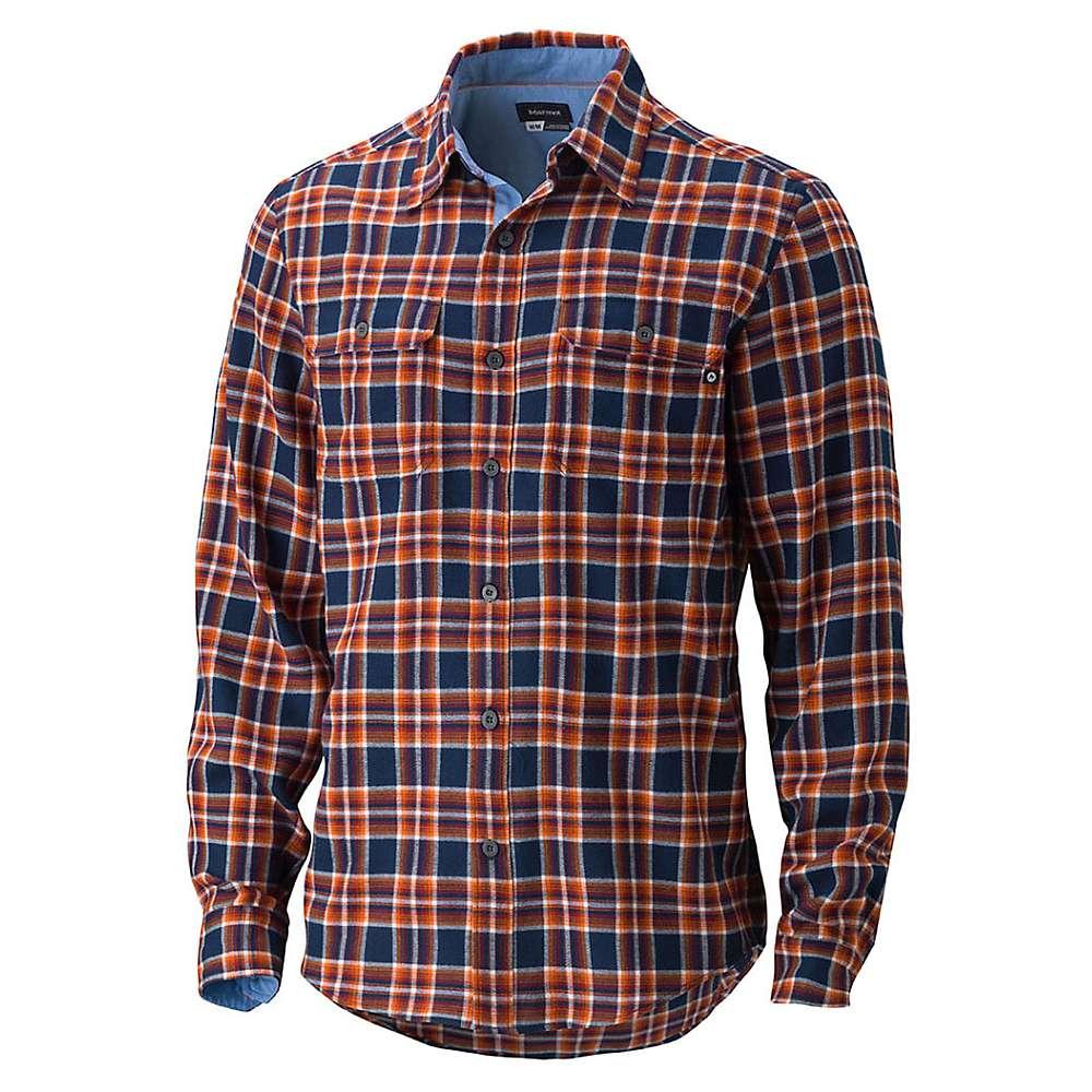 marmot men 39 s jasper flannel ls shirt at