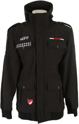 Neff Warplanes Softshell Snowboard Jacket - Men's