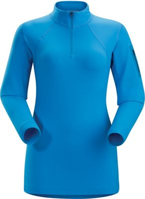 Arcteryx Women's RHO LT Zip Neck Baselayer