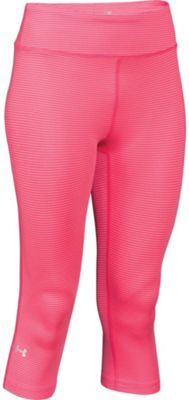 Under Armour Women's Heatgear Alpha Compression Stripe Capri