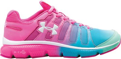 Under Armour Girls' Micro G Pulse II Fade Shoe