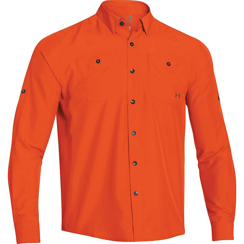 Under armour men 39 s ua chesapeake ls shirt moosejaw for Jawbone fishing shirts