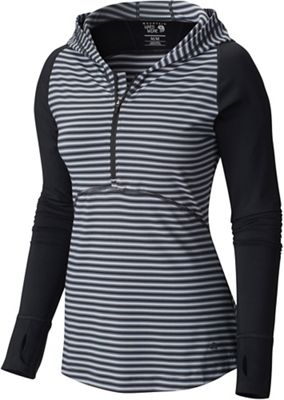 Mountain Hardwear Women's Butterlicious LS Half Zip Top