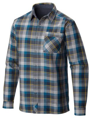 Mountain Hardwear Men's Reversible Flannel Plaid LS Shirt