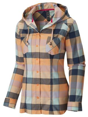 Mountain Hardwear Women's Stretchstone Flannel LS Shirt