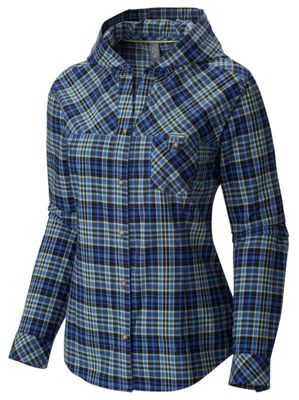 Mountain Hardwear Women's Tahoma Hooded Flannel LS Shirt