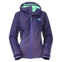The North Face Fuseform Dot Matrix Women's Insulated Jacket (Garnet Purple Tri Matrix)