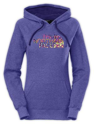 The North Face Women's Leopard Logo Pullover Hoodie