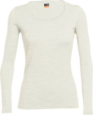 Icebreaker Women's Oasis LS Scoop Top
