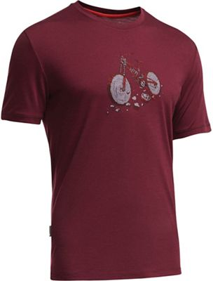 Icebreaker Men's Tech Lite SS Crewe Trail Log Tee