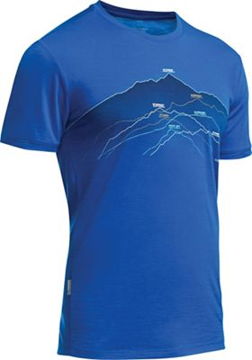 Icebreaker Men's Tech Lite SS Crewe Seven Summits Tee