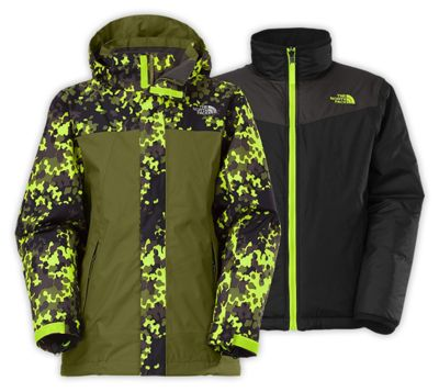 The North Face Boys' Abbit Triclimate Jacket