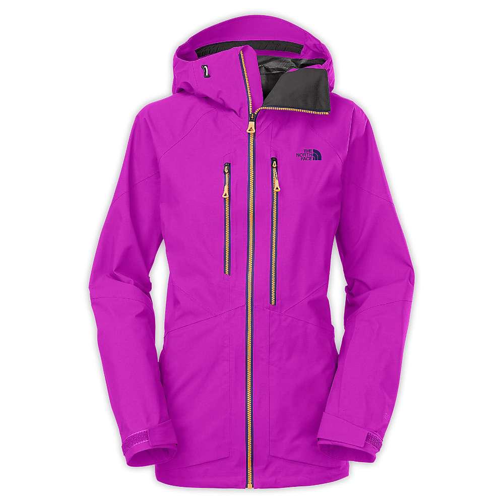 North face ladies jacket purple