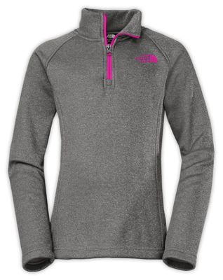 The North Face Girls' HW Agave 1/4 Zip
