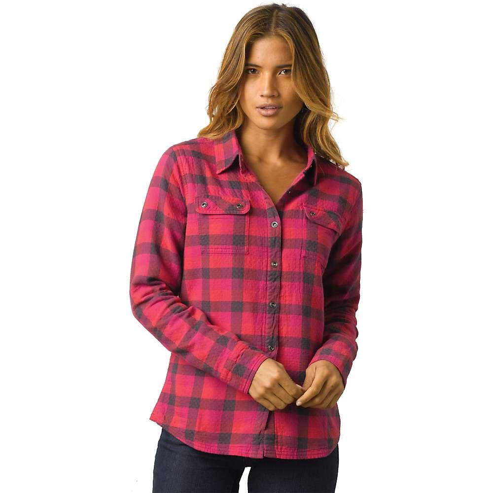 Prana women 39 s bridget lined shirt moosejaw for Prana women s shirts