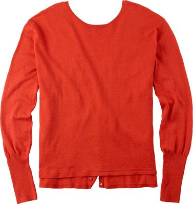 Burton Gracen Reversed Cardigan Sweater - Women's