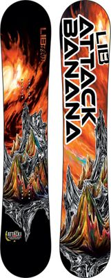 Lib Tech Attack Banana Snowboard 151 - Men's