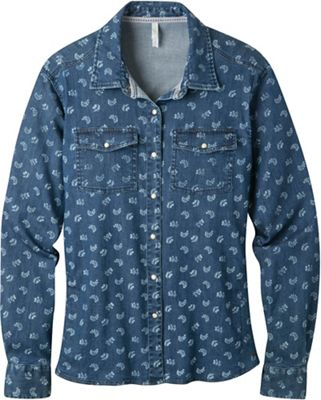 Mountain Khakis Women's Annie Stretch Denim Shirt