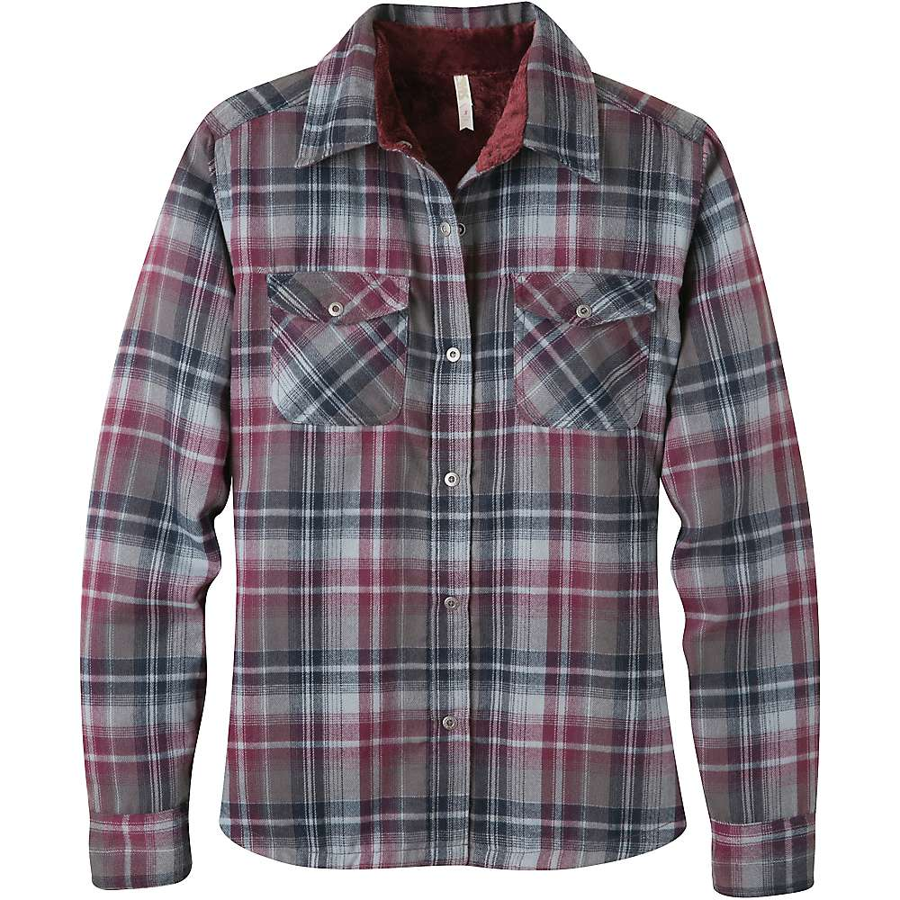 Women S Fleece Lined Flannel Shirt