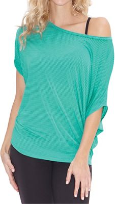 Beyond Yoga Women's Sleek Stripe Slouchy Top