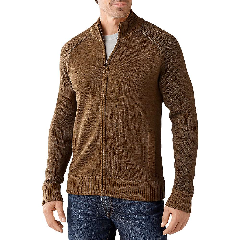 Smartwool Men's Pioneer Ridge Full Zip Sweater - at Moosejaw.com
