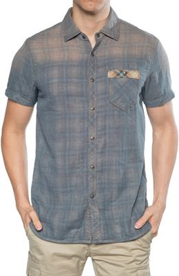 Jeremiah Men's Finney Reversible Plaid SS Shirt