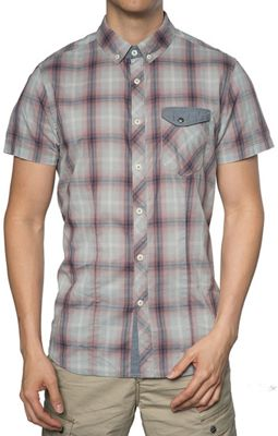 Jeremiah Men's Lucian Plaid Voile SS Shirt